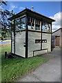 SH6918 : Signal box at Penmaenpool by Richard Hoare
