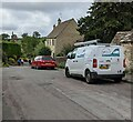SO8000 : Stroud District Council white van, Church Street, Nympsfield, Gloucestershire by Jaggery