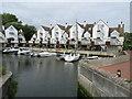 SZ1692 : Housing at the marina, Christchurch by Malc McDonald