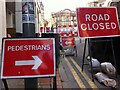 SP0686 : Which way for walkers? Hill Street, Birmingham by Alan Paxton