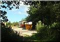 SX8467 : Track junction near Fermoy's by Derek Harper