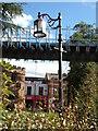 SP3379 : Street Light in Lady Herbert's Gardens by Geographer