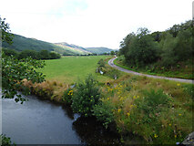 NR9983 : The old road at Glendaruel by Thomas Nugent