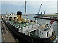 SZ0090 : The Quay, Poole - SS Shieldhall by Chris Allen
