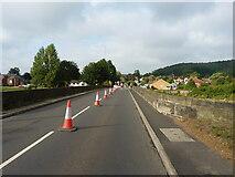 SK1805 : Crossing Hopwas Bridge by Richard Law