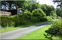 NR9283 : Holiday lodge at Ballimore by Thomas Nugent
