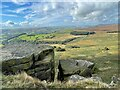 SK2384 : The view from Stanage Edge by Graham Hogg