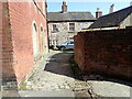SK2854 : Cobbled alley by Eirian Evans
