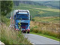 NR9276 : Log lorry on the B8000 road by Thomas Nugent