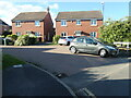 SP3578 : Houses on Yeomanry Walk, Coventry by Christine Johnstone