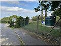 SP3762 : Ufton Fields sewage pumping station, Ufton Hill by Robin Stott