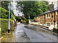 SD7914 : Queens Place, Summerseat by David Dixon