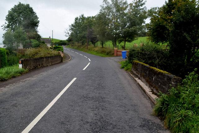 Small bridge along Moylagh Road