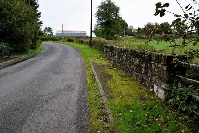 Bridge along Augher Point Road