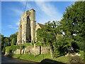 TQ6860 : All Saints Church, Birling by Malc McDonald