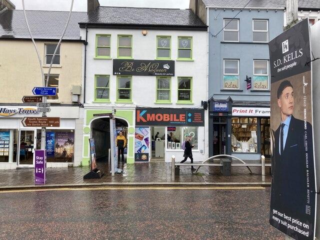 KMOBILE, Market Street, Omagh