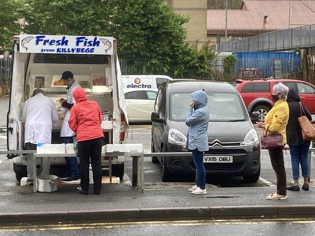 Fish van, Omagh
