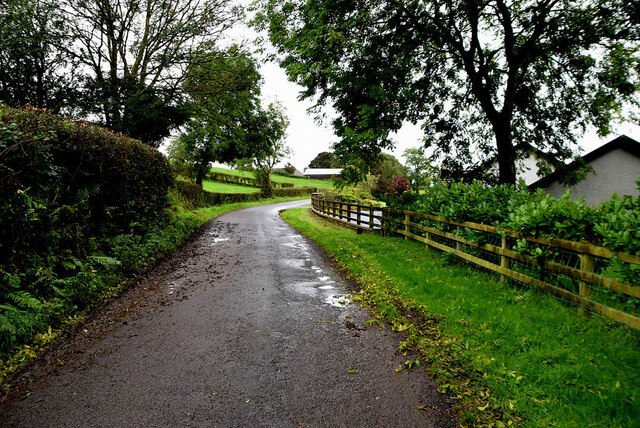 Wet along Legacurry Road