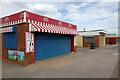 SJ0081 : Kiosks on Rhyl Seafront by Stephen McKay