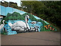 TF1703 : Murals on the Werrington underpass at Cuckoo's Hollow by Paul Bryan