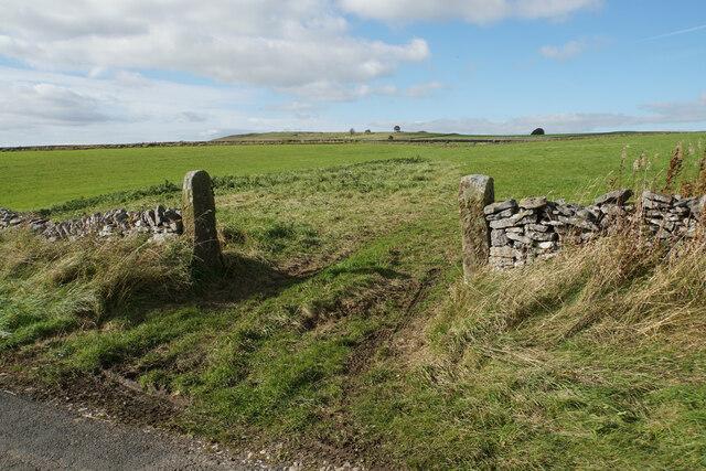 Open gateway off Flat Lane