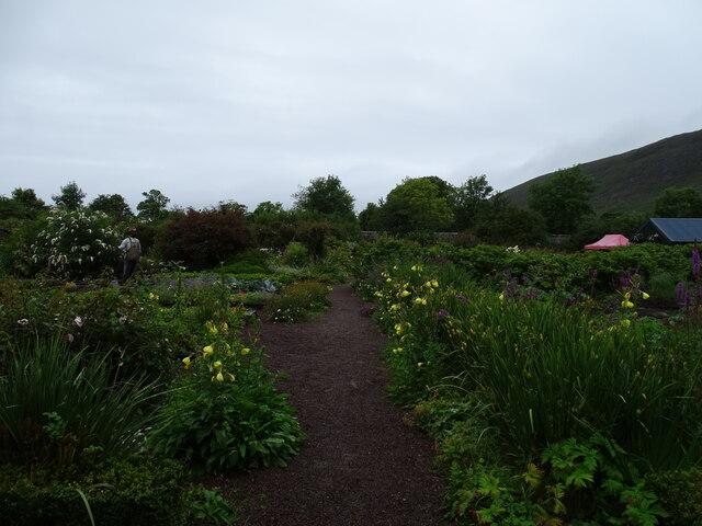 Applecross House walled garden