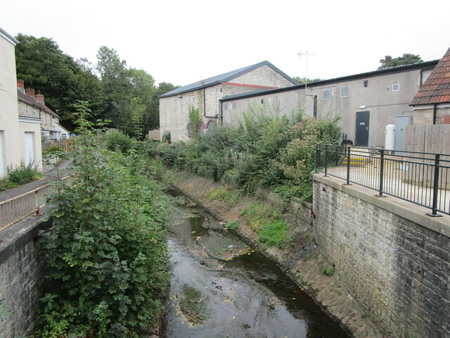 The Wellow Brook at Radstock by Jonathan Thacker