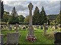 SO7636 : All Saints church (War memorial | Hollybush) by Fabian Musto
