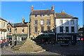 NU1813 : Market Cross in Alnwick by Chris Heaton