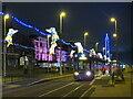 SD3037 : Tram at Blackpool Illuminations by Malc McDonald