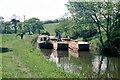 SJ9754 : Caldon Canal, Leek Branch, 1978 by Robin Webster