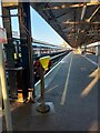 SU6200 : Portsmouth Harbour railway station by Virginia Knight