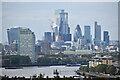 TQ3778 : River Thames and City of London by David Martin