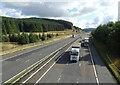 NS9716 : A74(M) towards Carlisle by JThomas