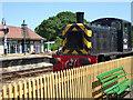 SZ5589 : Isle of Wight Steam Railway - Havenstreet Station, diesel shunting engine by Chris Allen