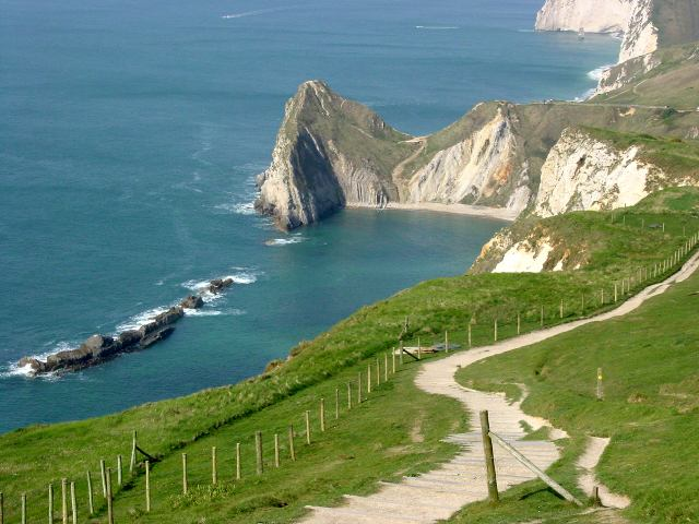 Durdle Door from the east