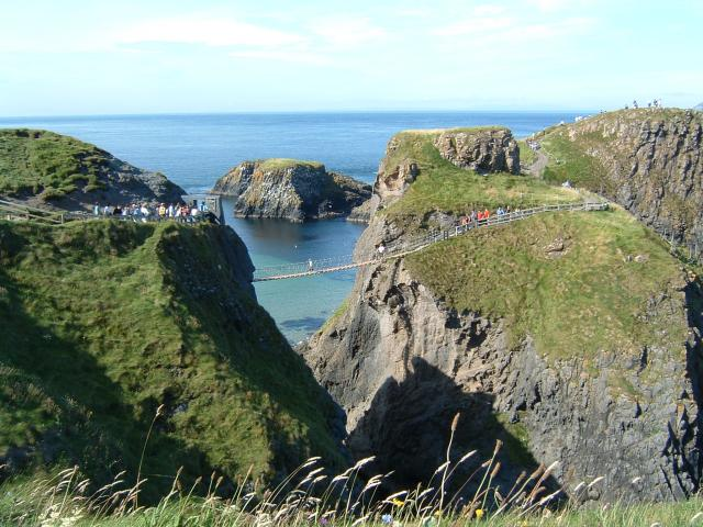 Rope Bridge to Carrick-a-Rede Island