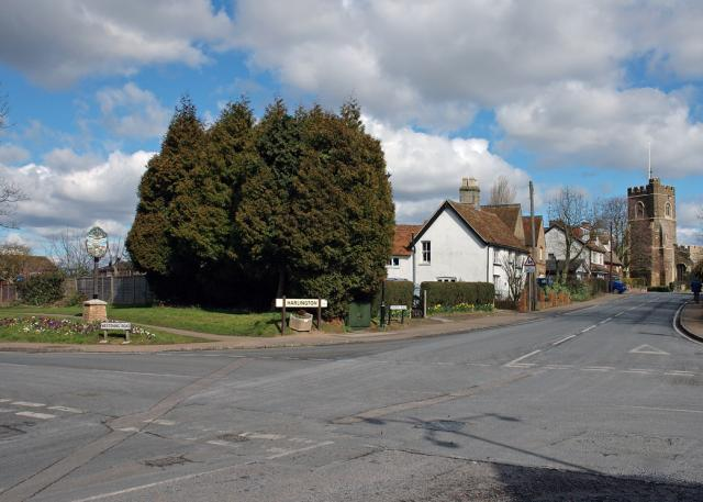 Harlington crossroads.