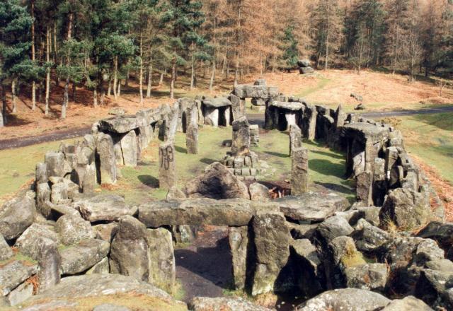 Druids Temple near Ilton.