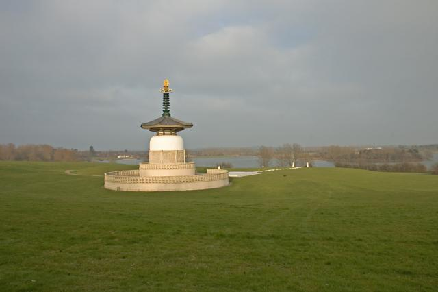 The Peace Pagoda, Milton Keynes