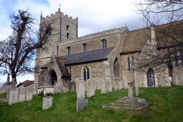 Holywell Church, Cambs