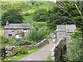 NY1701 : Bridge over the river and Eskdale Mill: Boot by Pam Brophy