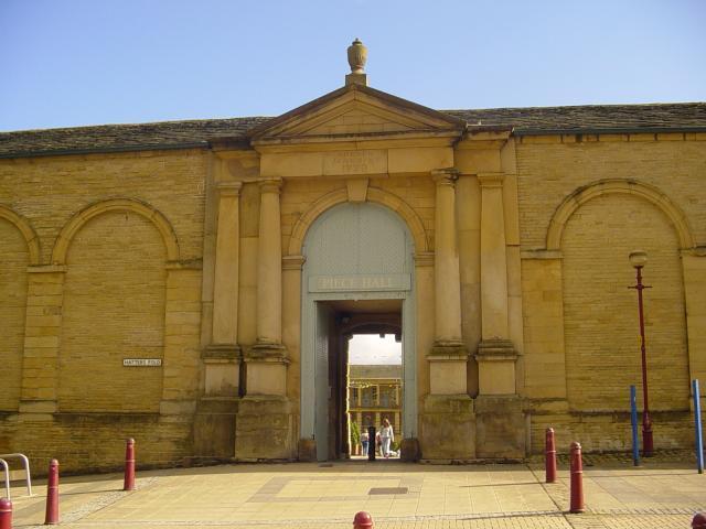 Piece Hall North Entrance