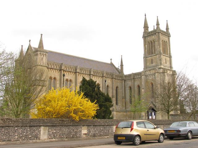 Church in Theale Village