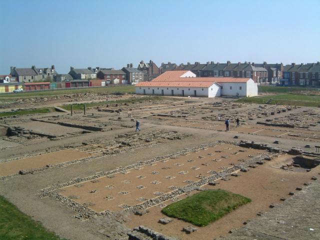 Roman Fort, The Lawe, South Shields, Tyne & Wear