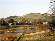 NT8127 : The Romany Marsh and Town Yetholm by Andy Stephenson