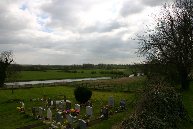 River Nene from Woodford Church
