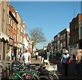 SU8604 : East Street, Chichester by Elaine Morgan