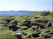 HU3909 : Jarlshof Prehistoric Site, Shetland by Bob Embleton