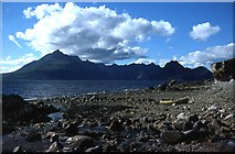 NG5113 : The Black Cuillin from Elgol by Anne Burgess